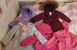 Baby girl clothes, coats, boots... size 12-18 months for Sale in Philadelphia, PA