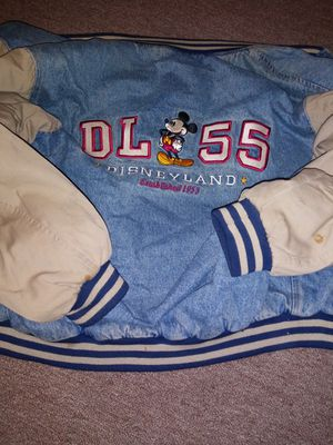 Vintage size adult med disneyland denim jacket 1955 for Sale in Wichita, KS