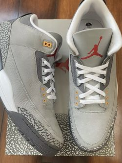 Air Jordan Retro 3 Cool Grey Size 13, 14 Men for Sale in Malvern,  PA