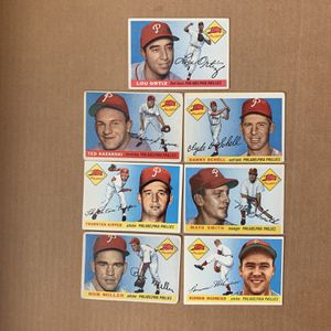 1955 Topps Baseball cards 7 Different Original Cards for Sale in Brea, CA