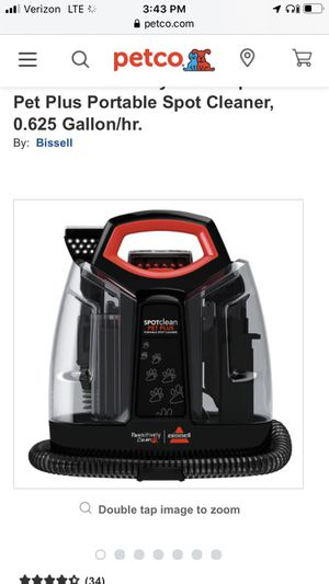 Bus sell pet cleaner vacuum carpet for Sale in Ontarioville, IL