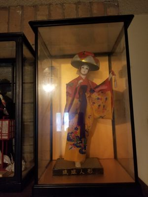 4 tall Japanese figures home decor for Sale in Wichita Falls, TX