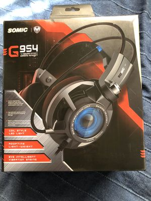 SOMIC USB WIRED HEADPHONE GAMING HEADSET 7.1 SOUND EFFECT for Sale in Los Angeles, CA