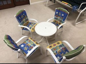 Kids chairs and table for Sale in Laurel, MD