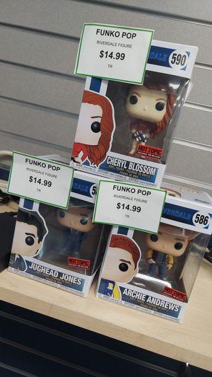Funko pop figures $14.99 each for Sale in West Sacramento, CA