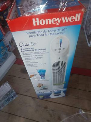 Honeywell tower fan open box for Sale in Fort Worth, TX