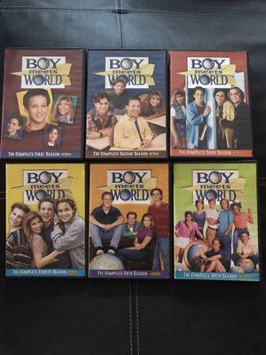 Boy meets world Seasons 1-6 DVD for Sale in Los Angeles, CA