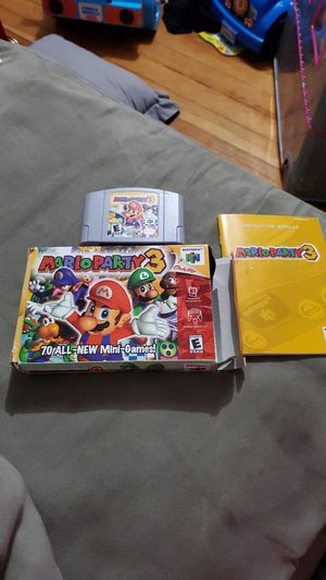 Mario party 3 for Sale in Chicago, IL