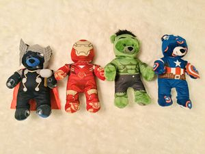 "Marvel Avengers Build-A -Bears Plush 18"" for Sale in Pacific, WA"