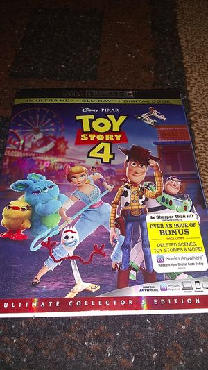 TOY STORY 4 BRAND NEW SEALED NEVER OPENED 4K ASKING ONLY FOR $14.00 for Sale in Phoenix, AZ