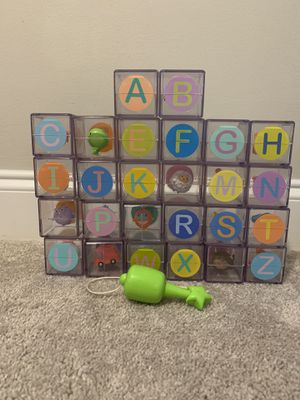 ABC flip flop blocks for Sale in Charlotte, NC