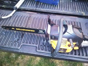 Remington Gas Chainsaw for Sale in Sterling, VA