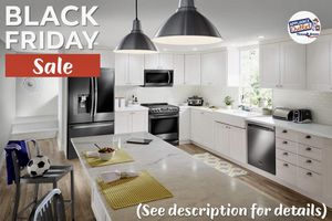 🦃$39 Down🦃 Brand New Kitchen Appliance Sets 20-50% Off! for Sale in Houston, TX