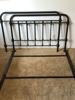 Bed Frame - Full - Black for Sale in Seattle,  WA