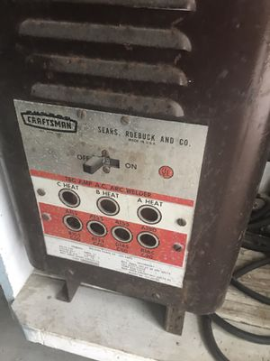 Craftsman welding machine for Sale in Aurora, IL