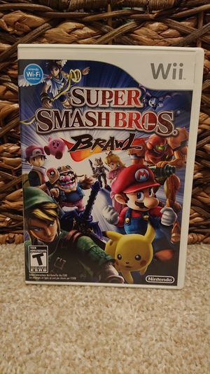 Wii - Super Smash Bros: Brawl for Sale in Redmond, WA