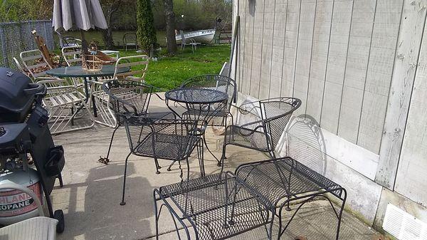 7 piece black patio furniture