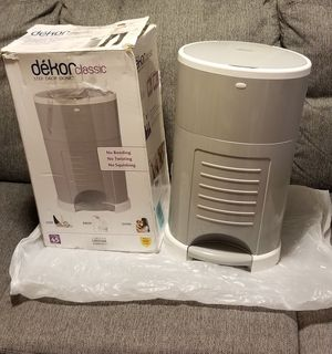 Dekor Classic Diaper Pail 🎁Open Box Unused 🎁 for Sale in Aurora, IL