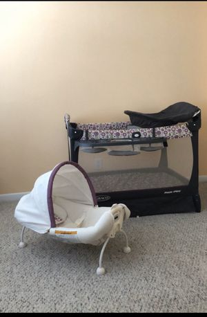 Graco Floral Girls Pack'nPlay for Sale in West Palm Beach, FL