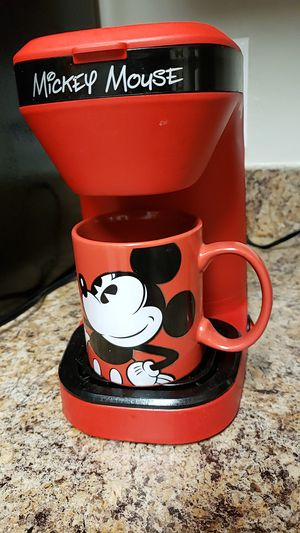 Mickey mouse single serve coffee maker for Sale in Alexandria, VA