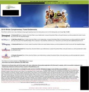 Disney eTicket with park Hopper. Expiration date december 17, 2021 for Sale in Hollywood, FL