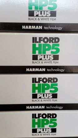 Ilford HP5 Plus 120mm Film for Camera for Sale in Maywood,  CA