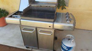 Barbecue propane weber grill for Sale in Riverside, CA