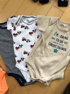 Lot of 8 Baby Boy onesies for Sale in Sarasota, FL