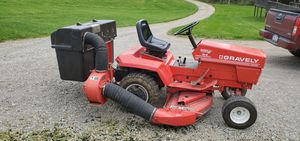Gravely lawn tractor and attachments for Sale in Saltsburg, PA