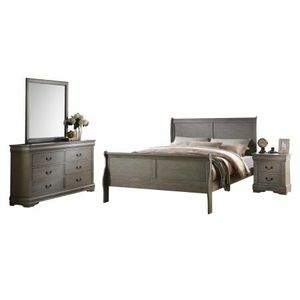 New 4 Pc. Antique Grey Bedroom Set for Sale in Austin, TX