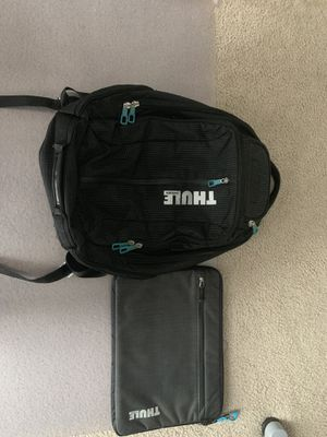 Thule Backpack and Laptop Case for Sale in Houston, TX