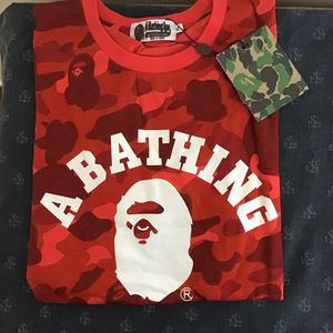 Red Camo Bape Shirt for Sale in Commerce, CA