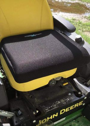 NEW Xtreme Comforts Large 19x17.5x3.5 Inch cushion office car seat wheel chair back pain stress relief anti slip bottom for Sale in Covina, CA