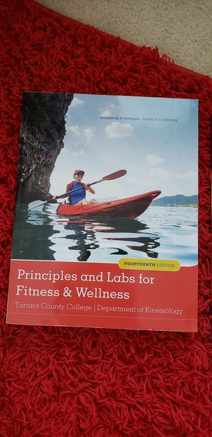 Principles and Labs for Fitness & Wellness Textbook for Sale in Keller, TX
