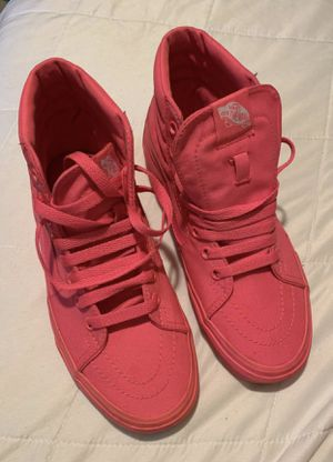 Vans hi top, hot pink 6.5 for Sale in Columbus, OH