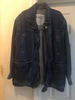 Mid length denim jacket for Sale in MONTGOMRY VLG, MD