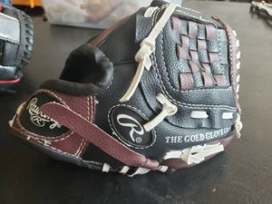 "Kids Rawlings ESBB5 Players Series PL90MB 9"" Basket Web design baseball glove for Sale in Pasadena, TX"