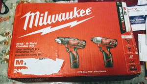 MILWAUKEE M12 COMBO SET NEW for Sale in Jersey City, NJ