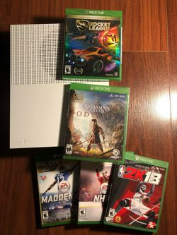 1TB Xbox One S with games for Sale in Seattle, WA