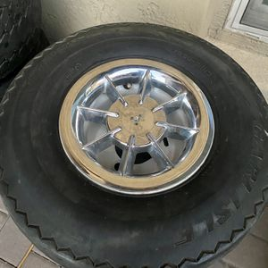 4 Lug Golf Cart Wheels And Tires for Sale in Gilbert, AZ