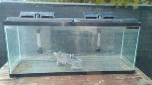 60 gallon aquarium duel filters for Sale in Hesperia, CA