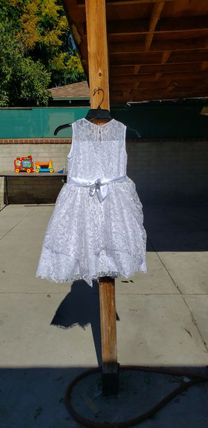 White size 10 special occasions dress for Sale in Los Angeles, CA