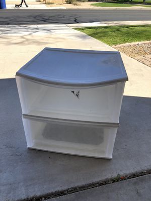 Large Plastic Storage Drawers for Sale in Chandler, AZ