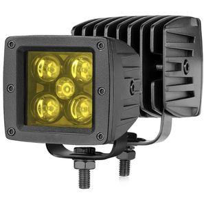 LED Cubes, Auto Power Plus 2Pcs 50W Amber LED Pod Lights 3 Inch LED Driving Lights Square LED Work Light Spot Off Road LED Lights Yellow LED Light Bar for Sale in Cerritos, CA