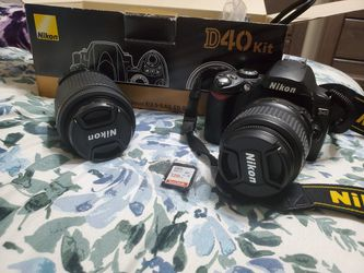 Nikon D40 kit for Sale in Columbus,  OH