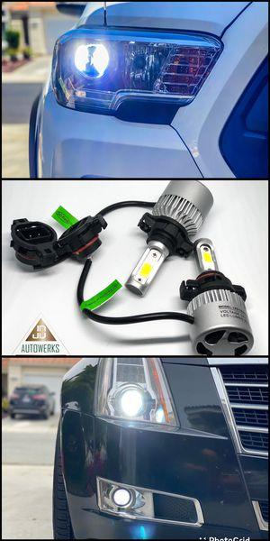 Top quality AUTOMOTIVE LED HEADLIGHT BULBS for Sale in Menifee, CA