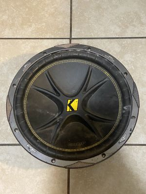 Kicker 12inch Subwoofer for Sale in Clovis, CA