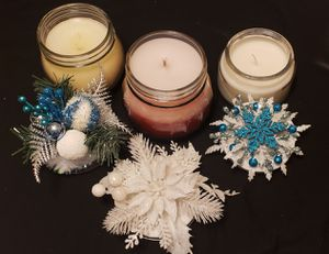 Christmas Candles & Decorative Toppers for Sale in Wichita, KS