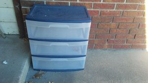 (2) Plastic Drawers for Sale in Owasso, OK