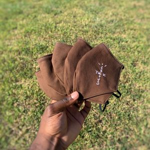 """Travis Scott Cactus Jack Face Mask""""Brown""""😷 $50 Receipt Available for Sale in Richmond, TX"""